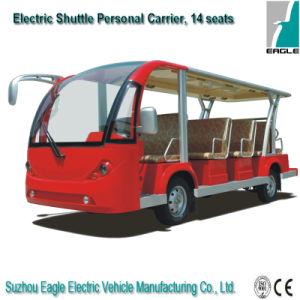14 Seater Electric Shuttle Bus Eg6158k pictures & photos