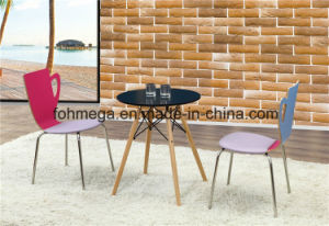 French Style Customized Round Table Chair for Coffee Shop (FOH-BC50) pictures & photos