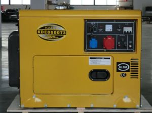 8KVA Air Cooled Single Cylinder and 3-Phase Diesel Silent Generator pictures & photos