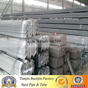 Ms Equal /Unequal Black & Galvanized Steel Angle Bar pictures & photos