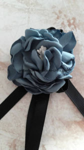 Handmake Slik Flowers with Ribbon Ym-90 pictures & photos