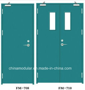 Steel Fire Door with Different Fire Rates (CHAM-FRSD01) pictures & photos