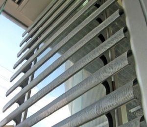 Celoscreen Aluminum Sun Louver Steel Louvers/Sun Louvres/Window Shutters