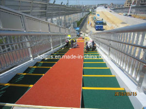 ISO9001 Approval Colorful EPDM Granules Rubber Floor for Public Stairs pictures & photos