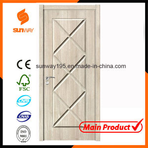 New Design Boutique Green Healthy Wooden Door with Ce pictures & photos