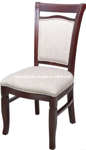 Solid Wood Upholstered Dining Chair