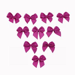 Fuchsia Satin Ribbon Bow pictures & photos