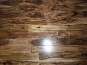 Household Gloss Finish Acacia Hardwood Floor