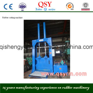 Vertical Rubber Cutter Machine for Cutting Rubber pictures & photos