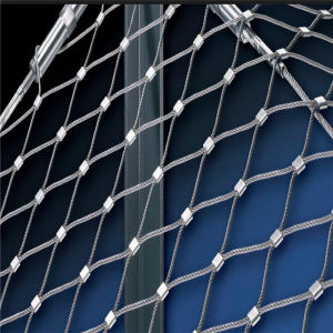 Grade 316 Stainless Steel Cable Net, Stainless Steel Rope Mesh, X Tend Mesh pictures & photos