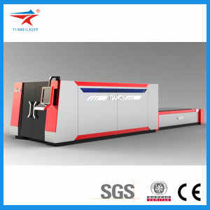 CNC Plate-Cutting Machine with Exchange Table (TQL-MFC2400-3015/4020) pictures & photos