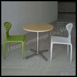 Wholesale 4 Star Round Wooden Top Laminate Cafe Table (SP-RT372) pictures & photos