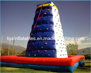 Adult Inflatable Rock Climbing Bouncy Castle