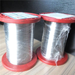 Stainless Steel Wire for Woven Mesh, Binding, Nails Making, Rope Mesh, Radiation-Proof Clothes pictures & photos