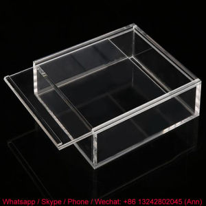 Clear Acrylic Storage Box with Lid pictures & photos