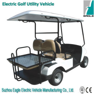 4 Seats Utility Vehicle with Rear Flip Seat pictures & photos