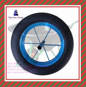 3.00-8, 3.25-8, 3.50-8, 400-6, 4.00-8 Good Quality Long Life PU Foam Wheel pictures & photos