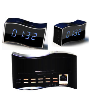 Mini WiFi Clock IP Security Camera Hidden Sony322 Len Full 1080P Night Vision pictures & photos