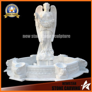 White Marble Granite Garden Water Fountain for Home Decoration pictures & photos