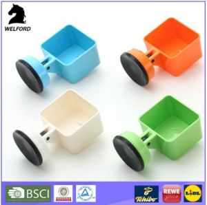 Plastic Suction Wall Hook Soap Holder pictures & photos