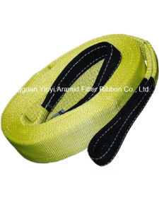 Multi Specifications Yellow Polyester Lifting Belt Webbing pictures & photos