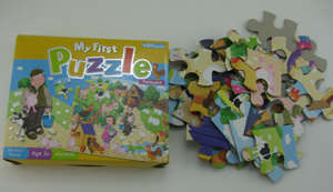Cheap Price 48 PCS Printed Puzzle Set pictures & photos