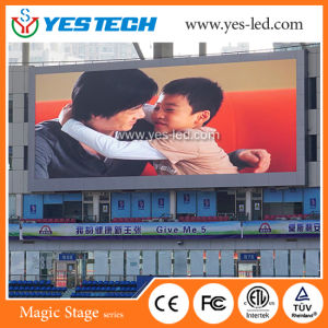 Indoor Outdoor Stadium Fix and Rental Install Sport LED Screen Display pictures & photos