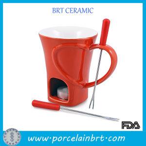 Warm Chocolatier Small Ceramic Fondue Mug pictures & photos