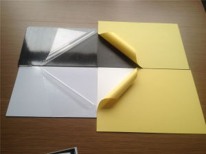 1.5mm White Self Adhesive Sheet for Wedding Album pictures & photos