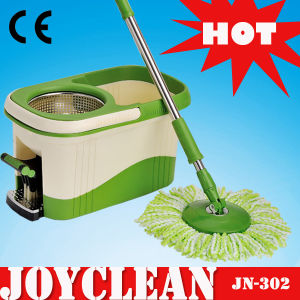 Joyclean New TV Products with Microfiber Mop Head Cleaning Spin Mop (JN-302) pictures & photos