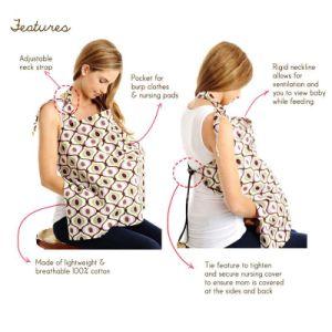 Classic Baby Breast Nursing Cover Feeding Nursing Dress