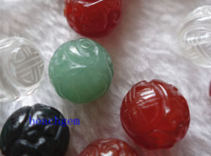 Jewelry Parts-Natural Gemstone Carved Beads pictures & photos