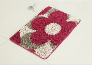 Comfortable PP Rugs, with Elbow Yarns, Flower Pattern pictures & photos