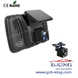 4 Inch Front and The Rear Car Camera DVR pictures & photos