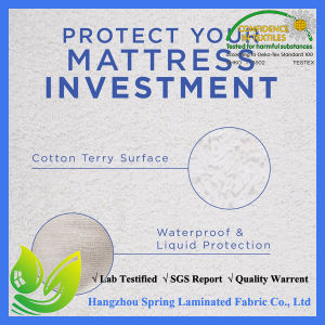 Hotel Collection Terry Waterproof Mattress Protector King Size pictures & photos