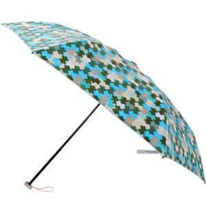 Manual Open Jigsaw Printing 3 Folding Umbrella (BD-72) pictures & photos