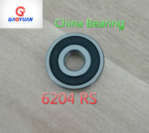 High Quality & Low Noise Deep Groove Ball Bearing (6204 RS/Zz) pictures & photos