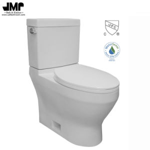 2604 Cupc Bathroom Sanitary Ware Single Flush Siphonic Two Piece Ceramic Toilet pictures & photos