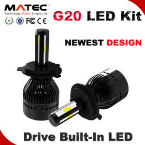 G20 80W 8000lm G5/G6/L5/G6 12V 24V Car Headlight LED H4 LED Headlight Bulbs pictures & photos