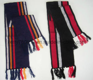 High Quality Knitted Scarf/Warm Scarf (DH-LH7119) pictures & photos