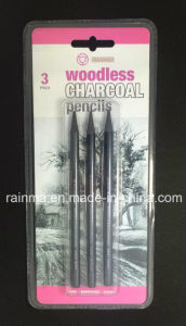 Woodless Graphite Pencils 3 PCS Blister Packing pictures & photos