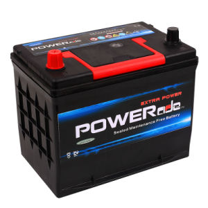 JIS N50z-12V60ah Mf Car Battery with RoHS/CE/Soncap