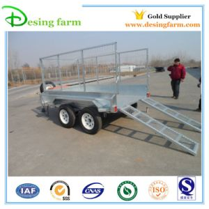 9X5 Tipper Box Trailer with Load Ramp (BT-95) pictures & photos