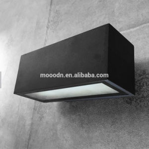 Modern Black Die Cast Aluminium Box Explosionproof Waterproof IP65 10W COB LED Wall Lamp for Bathroom and Passage