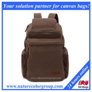 Funtional Canvas Sport School Bag Backpack (SBB-026) pictures & photos