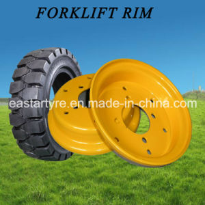 China Factory Direct Supply Forklift Tyre Rim (3.00D-8 4.00E-9) pictures & photos