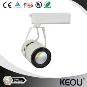 15/30/60 Degree 12/24/30/40W White Round Track Light pictures & photos