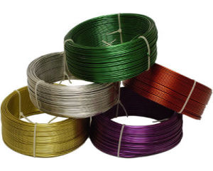 Iron Wire in PVC Coated with Different Color pictures & photos