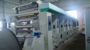 Human Internet Control 8 Color Gravure Printing Machine pictures & photos