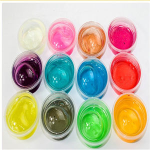 Color Hand Gum Glass Clay Semi-Transparent Stationery pictures & photos